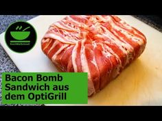 Katerfrühstück - Bacon Bomb Sandwich aus dem OptiGrill mit KochMalSchnell - YouTube Bacon Bombs, Toast Sandwich, Comfort Food, Grilling, Sandwiches, Food And Drink, Beef, Recipes, Youtube