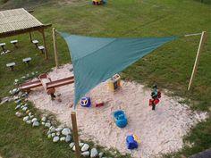 Sandkasten-Spielplatzausstattung SAND progressive design playgrounds