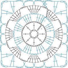 Afbeeldingsresultaat voor pinterest crochet squares