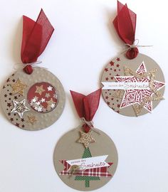 Best Wishes Paper scissors etc. Christmas Angel Crafts, Quilling Christmas, Christmas Gift Tags, Christmas Wrapping, Holiday Crafts, Christmas Ornaments, Wooden Christmas Tree Decorations, Handmade Gift Tags, Christmas E Cards
