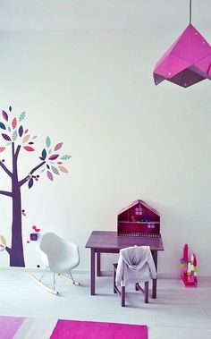 Franta Ági Staarlight lamp, Mamas & Papas wall sticker