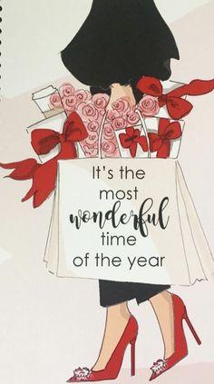 Illustration Noel, Christmas Illustration, Illustrations, Christmas Quotes, Christmas Art, Christmas And New Year, Holiday Sayings, Christmas Humor, Christmas Gifts