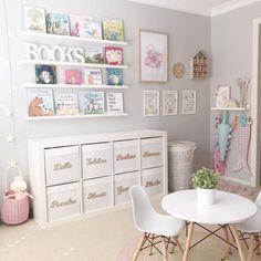 Playroom Design, Kids Room Design, Playroom Ideas, Modern Playroom, Playroom Decor, Kids Storage, Storage Design, Cube Storage, Wall Storage