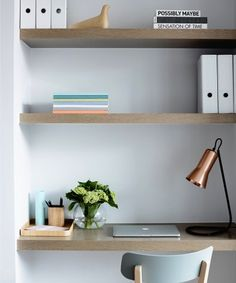Study | Crisp Street Apartment | Mim Design Melbourne - Alcove Ideas