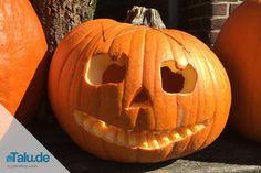 Halloween Kürbisgesichter schnitzen – kostenlose Vorlagen zum Ausdrucken
