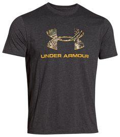 Large? Under Armour Camo Fill Logo T-Shirt for Men - Short Sleeve | Bass Pro Shops