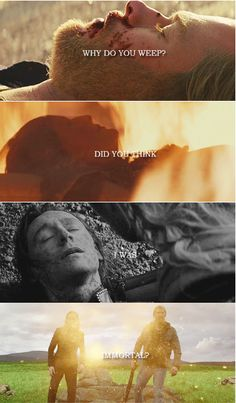 We are not gods, we are born, we live, we die #Thor #Loki