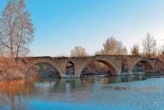 Νομός Τρικάλων - Κεραμίδι - Παλιογέφυρο του Κεραμιδίου - ποταμός Ενιπεύς