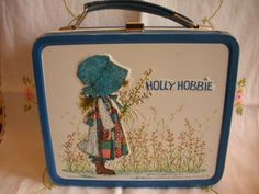 Holly Hobbie Lunch Box - I had this and drank kool-aid out of my thermos! Loved Holly Hobby!