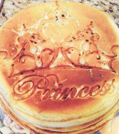 Princess pancakes !