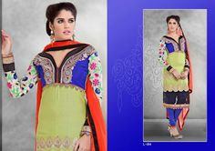 Glace Base Suit, high quality with Dupatta