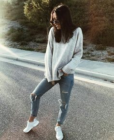 How to wear fall fashion outfits with casual style trends Mode Outfits, Trendy Outfits, Fashion Outfits, Fashion Trends, Fashion Lookbook, School Outfits, Style Work, Mode Style, Looks Street Style