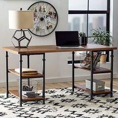 Writing Desk with Industrial-Inspired Zona Bookcase in Br... https://www.amazon.com/dp/B01N4MOZNR/ref=cm_sw_r_pi_dp_x_WLVHyb2X8ZRQR