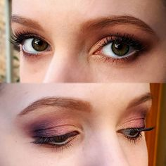 Sunset eyeshadow for my gorgeous little sis seriously, how pretty are her eyes?! loved creating this look, using the @toofaced Sweet Peach palette #babe #peachy