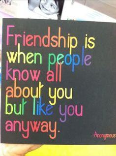 Friendship....