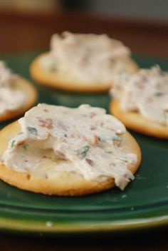 Bacon Cream Cheese Spread Recipe This savory spread can go casual on crackers, or dress up for a party on crisp baguette toasts...