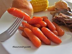 The Country Cook: Maple Glazed Carrots