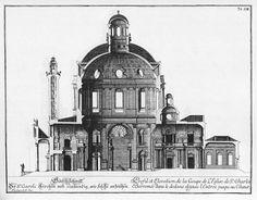 Fischer von Erlach's Karlskirche in Vienna Architecture Mapping, Revit Architecture, Baroque Architecture, Classic Architecture, Architecture Drawings, Historical Architecture, 3d Interior Design, Interior Design Process, Schedule Of Works