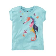 Seahorse Star Graphic Tee Sz 3