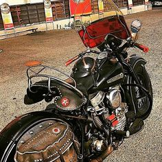 Panhead #harleydavidson #motorcycles