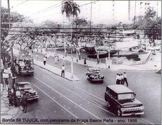 Praça Saens Pena, Tijuca, 1956.