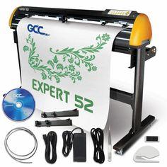 "GCC Professional Expert II 52"" Wide Vinyl Cutter - Swing Design Commercial Signs, Swing Design, Oracal Vinyl, Sign Maker, Transfer Tape, Vinyl Cutter, Car Wrap, Vinyl Crafts"