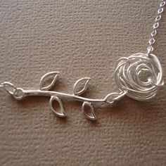 Wire Rose and Branch
