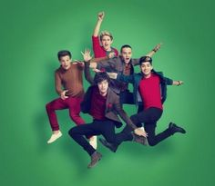 The boys, I don't like how a lot of their pics are photoshoped...like I know for this one, but a lot of their pics are