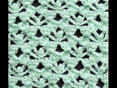 Crochet: Punto Fantasía # 24 - YouTube