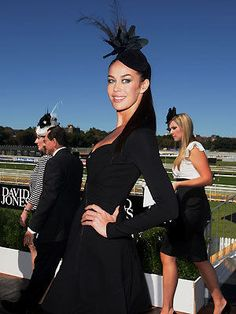 Megan Gale - Derby Day