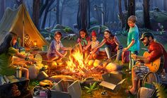 Gardens of Time | Campfire Stories
