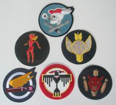 Repro WWII Squadron Patches.