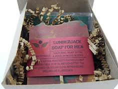 Lumberjack Soap For Men Pine Forest Man Scent Comes In Gift Box Handmade With Natural Ingredients Such as Coconut Olive Oil and Coconut Milk 1 Pack -- You can find more details by visiting the image link-affiliate link. Organic Body Wash, Organic Soap, Coconut Oil For Skin, Coconut Milk, Homemade Gifts For Men, Handmade Soaps, Pine Forest, Olive Oil, Natural