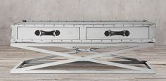 Trans-Atlantic Steamer Trunk Table | Restoration Hardware