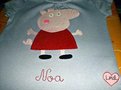 camiseta pepa pig