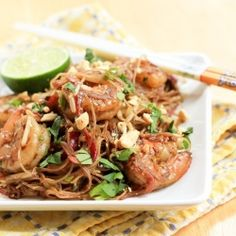 A flavorful Thai dish with shrimp.
