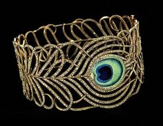 Peacock bracelet! So pretty!