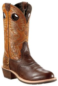 Ariat Heritage Roughstock Wash Tan - Round Toe - Sheplers