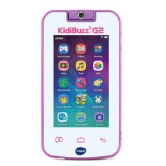 VTech KidiBuzz Kids' Electronics Smart Device with KidiConnect, Pink