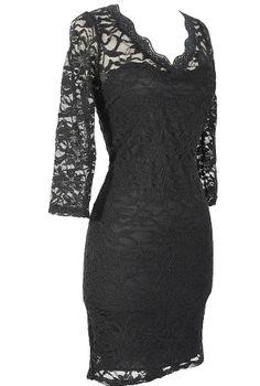 my little black dress.