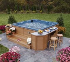 free paver patio designs with hot tub . don't forget to download ... - Patio Ideas With Hot Tub