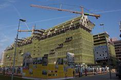 Construction yard Markthal Rotterdam Centre #Rotterdam #010 #Holland #Netherlands #City #Centre #Centrum #Stad #Citylife #Urban #Architecture #Building #Buildings #Stadsleven #Nederland #Dutch #Roffa