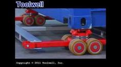 shipping container floor jack dolly - YouTube