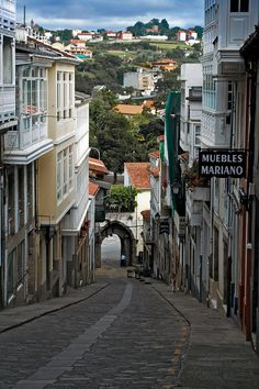 Betanzos, Galicia, A Coruña, Spain My grandmother's homeland. Places In Spain, Oh The Places You'll Go, Cool Places To Visit, Places To Travel, Wonderful Places, Beautiful Places, Basque Country, Spain And Portugal, Spain Travel