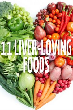 There is no magical food that will protect your liver from disease and damage, but including these 11 super foods as part of a balanced diet and lifestyle will help you maintain a healthy weight, aid digestion and reduce cholesterol – all good news for yo Liver Disease Diet, Fatty Liver Diet, Healthy Liver, Healthy Weight, Healthy Eating, Liver Recipes, Healthy Recipes, Healthy Foods, Food Good For Liver