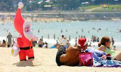 Christmas Christmas In Australia, Names, Wrestling, Marketing, Beach, Lucha Libre, The Beach, Beaches