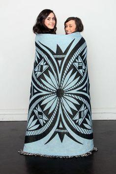 Butterfly Blanket by Michelle Lowden $69