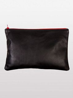 Medium Leather Carry-All Pouch from American Apparel.