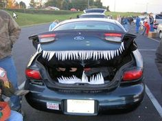 halloween car see more httpwwwtipjunkiecompostdecorate your - Car Decorations For Halloween