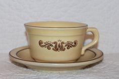 B7 Village by Pfaltzgraff Stoneware Tea Cup and by CRAZYMARYSFINDS